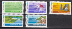 Portugal Azores # 316 / 321, World Tourism,  NH, Third Cat