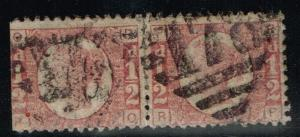 GB SG# 49, Used Pair, Plate 10, Cut Left  -  Lot 07202015