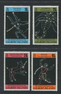 STAMP STATION PERTH Gilbert Is.#308-311 Night Sky Issue MNH 1977 CV$3.00