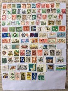 German 100+ stamps - Lot G