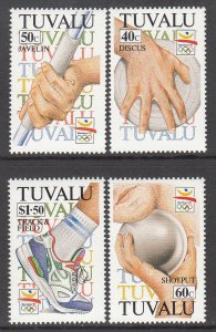 Tuvalu 612-615 Summer Olympics MNH VF
