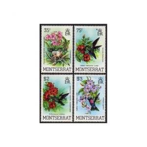 Montserrat 497-500 SPECIMEN,MNH.Michel 507-510. Birds 1983.Hummingbirds,Caribs.