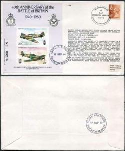 C79a 40th Ann of RAF Swanton Morley Standard Cover