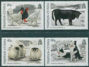 Tristan Da Cunha 1997 SG620-623 Island Livestock set MNH
