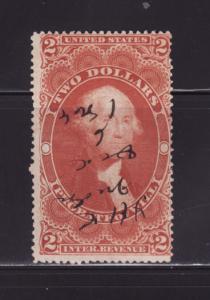 United States R83c U Revenue Stamp, George Washington