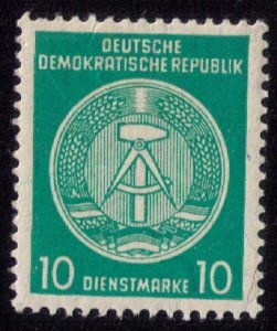 German Democratic Republic MNH,Og Perf 14, MICHEL #35y (Michel  DA35yBY  VF/XF