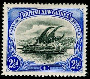 AUSTRALIA - Papua New Guinea SG4, 2½d black & ultra, LH MINT. Cat £40.
