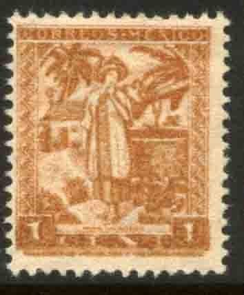 MEXICO 784, 1¢ 1934 Definitive. Yalalteca girl. MINT, NH. VF.