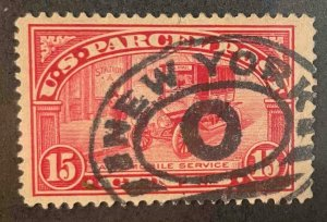 US Stamps #Q7 Used Parcel Post #Q7A134