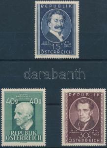 Austria stamp Famous people MNH 1949 Mi 934 + 941-942 WS145422