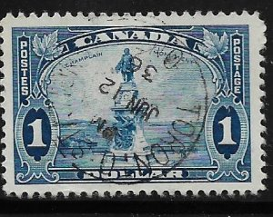 CANADA, 227, USED, CHAMPLAIN MONUMENT