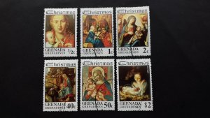 Grenada 1975 Christmas - Virgin and Child Paintings by Artists Named Used