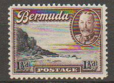 Bermuda SG 100  Mint Very Light Hinge