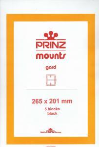 PRINZ BLACK MOUNTS 265X201 (5) RETAIL PRICE $16.50