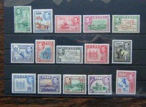 Fiji 1938 - 1955 values to £1 MM