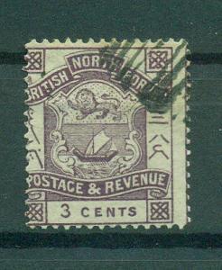 North Borneo sc# 38 used cat value $.50
