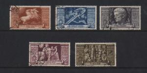 Italy #C95 - #C99 VF Used Rare Set