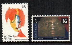Belgium  1537 - 1538  MNH $ 2.00 111
