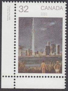 Canada - #1027 Canada Day 1984 - Ontario - MNH