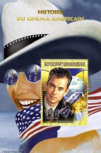Madagascar 1999 Tom Hanks American Cinema s/s Perforated mnh.vf