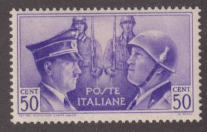 Italy 416 Adolf Hitler and  Mussolini 1941