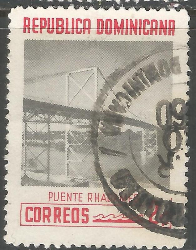 DOMINICAN REPUBLIC 520 VFU BRIDGE L861-5