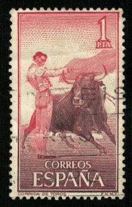 Corrida de Toros, Espana, 1 PTA (T-9349)