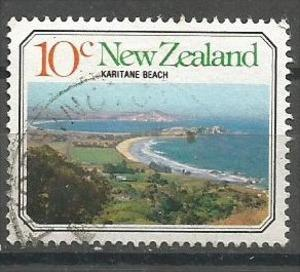 NEW ZEALAND, 1977, used 10c, Seascapes and beach scenes, Scott 626