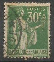 FRANCE, 1932, used 30c, Peace, Scott 264