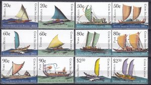 Cook Islands #1446-51  MNH  CV $17.00 (Z3864)
