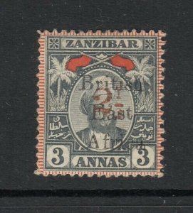 British East Africa, Sc 100 (SG 91), MHR, signed Bloch