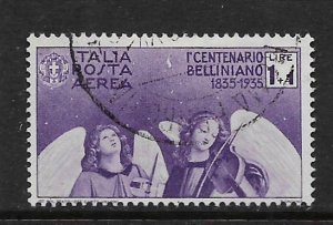ITALY, C82, USED, ANGELIC DIRGE FOR BELLINI
