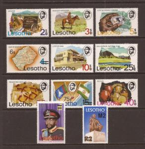 Lesotho scott #302-12 m/nh stock #36745