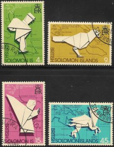 [12603] Solomon Islands # 272 - 75 Used