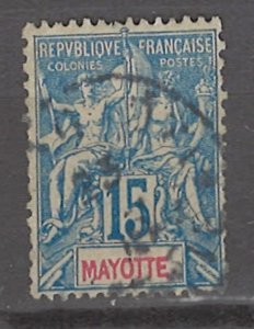 COLLECTION LOT # 3004 MAYOTTE #8 1900 CV=$10.50