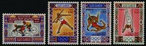 Algeria 473-6 MN H Olympic Games, Cycling, Wrestling, Gymastics, Javelin