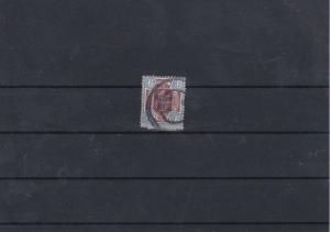British Edward 9d Stamp With Albert Man Cancel Ref: R5922
