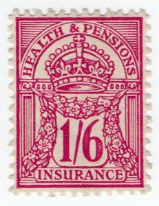 (I.B) George V Revenue : Health & Pensions Insurance 1/6d