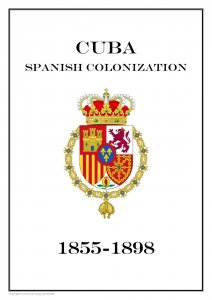 Spanish colonization  1855-1898  PDF (DIGITAL) STAMP  ALBUM PAGES