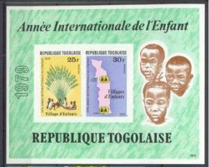 Togo 1028a MNH imperf.s/s Children year
