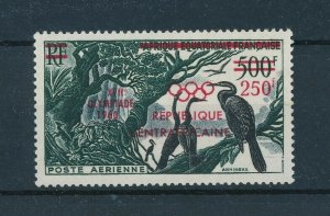 [102987] Central African Republic 1960 Birds Red OVP Olympic Games MLH