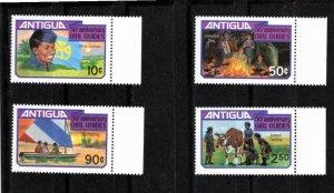 Antigua 1981 Sc 628-31 MNH Commemorative Perforate