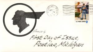 #1497 Postal Employees Wildy FDC