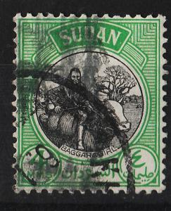 Sudan 1951 Various Designs 4m (1/17) USED