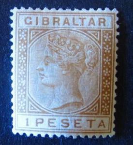 Gibraltar #36 Mint Hinged - (AZ5) WDWPhilatelic! 2