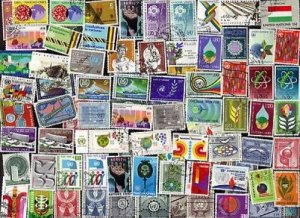 150 UNITED NATIONS GENEVA & VIENNA OFFICES Stamps