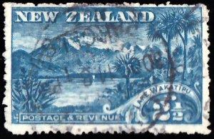 New Zealand Scott 111 Used.