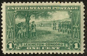 US #617 SCV $35.00 XF-SUPERB mint never hinged, post office fresh,  large mar...