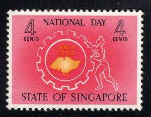 Singapore MNH** stamp Scott 60