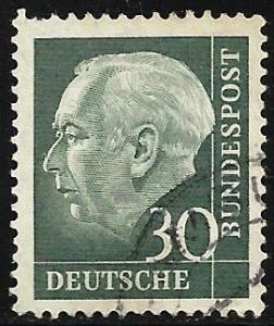 Germany 1957 Scott # 755 Used